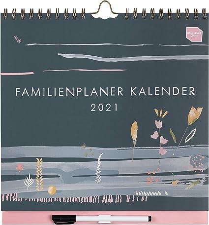 in tedesco) Boxclever Press 'Familienplaner Kalender' calendario