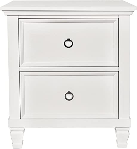 New Classic Furniture Tamarack Nightstand, White