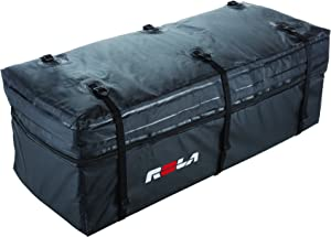 ROLA 59102 Wallaroo Cargo Bag, Rainproof, Expandable Hitch Tray Carrier,Black