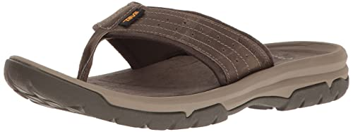 0df81c65dc34 Teva Men s M Langdon Flip Sandal  Amazon.ca  Shoes   Handbags