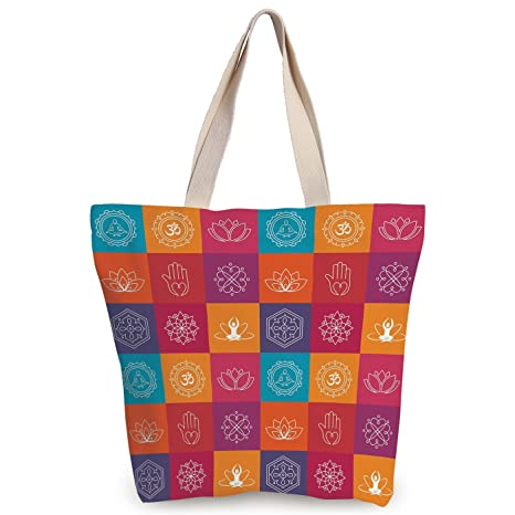 Amazon.com  iPrint Cool Canvas Tote Bag 440c2d5030729