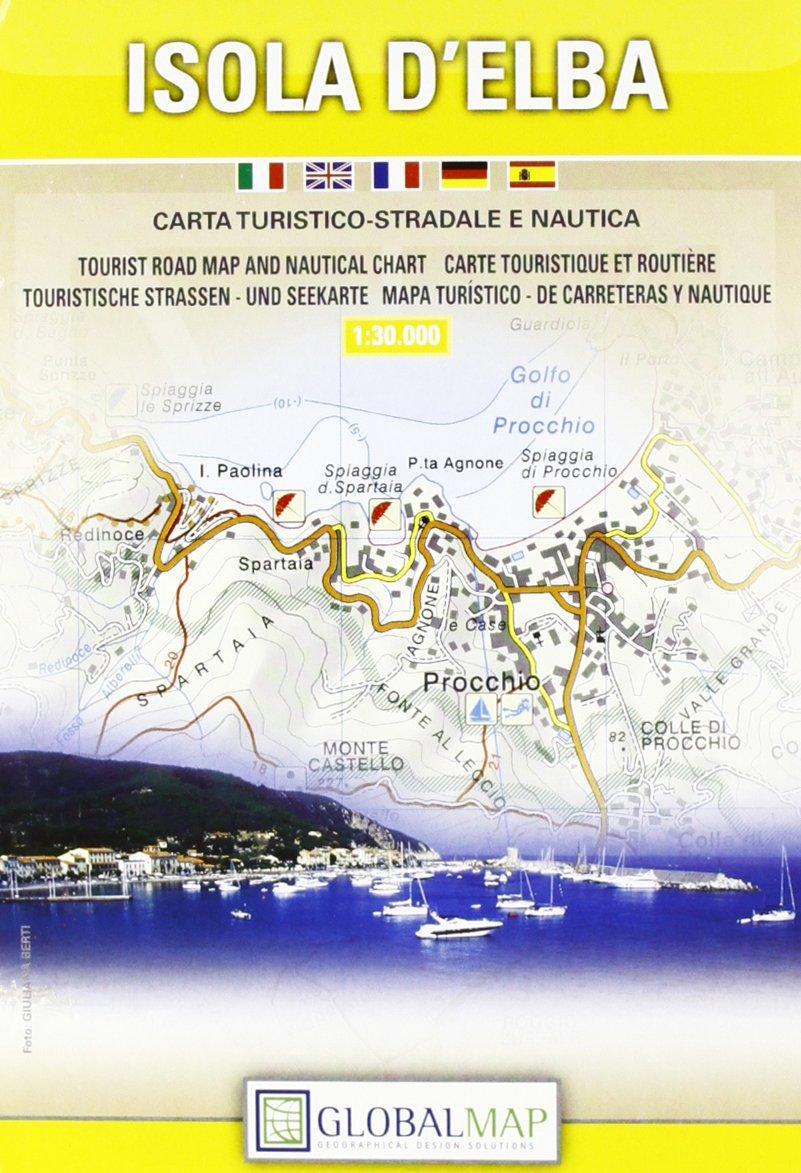 Procchio Elba Karte.Topographische Karte Isola D Elba 1 30000 9788879143714