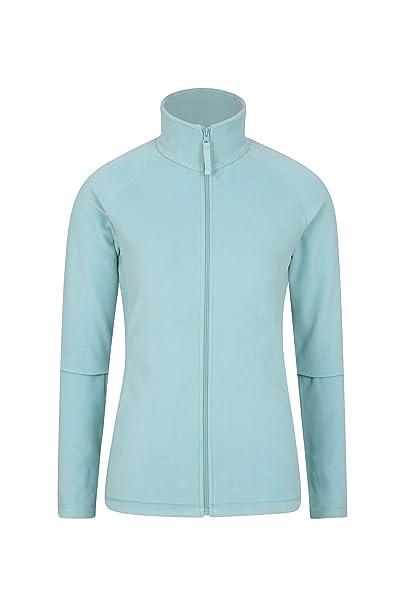 Mountain Warehouse Jersey Polar Raso para Mujer - Suéter Ligero - Secado rápido - Sudadera cálida y Suave - Ideal para Viajar y pasear: Amazon.es: Ropa y ...