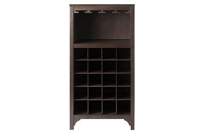 Aprodz Yuna Bar Cabinet (Mango Wood)