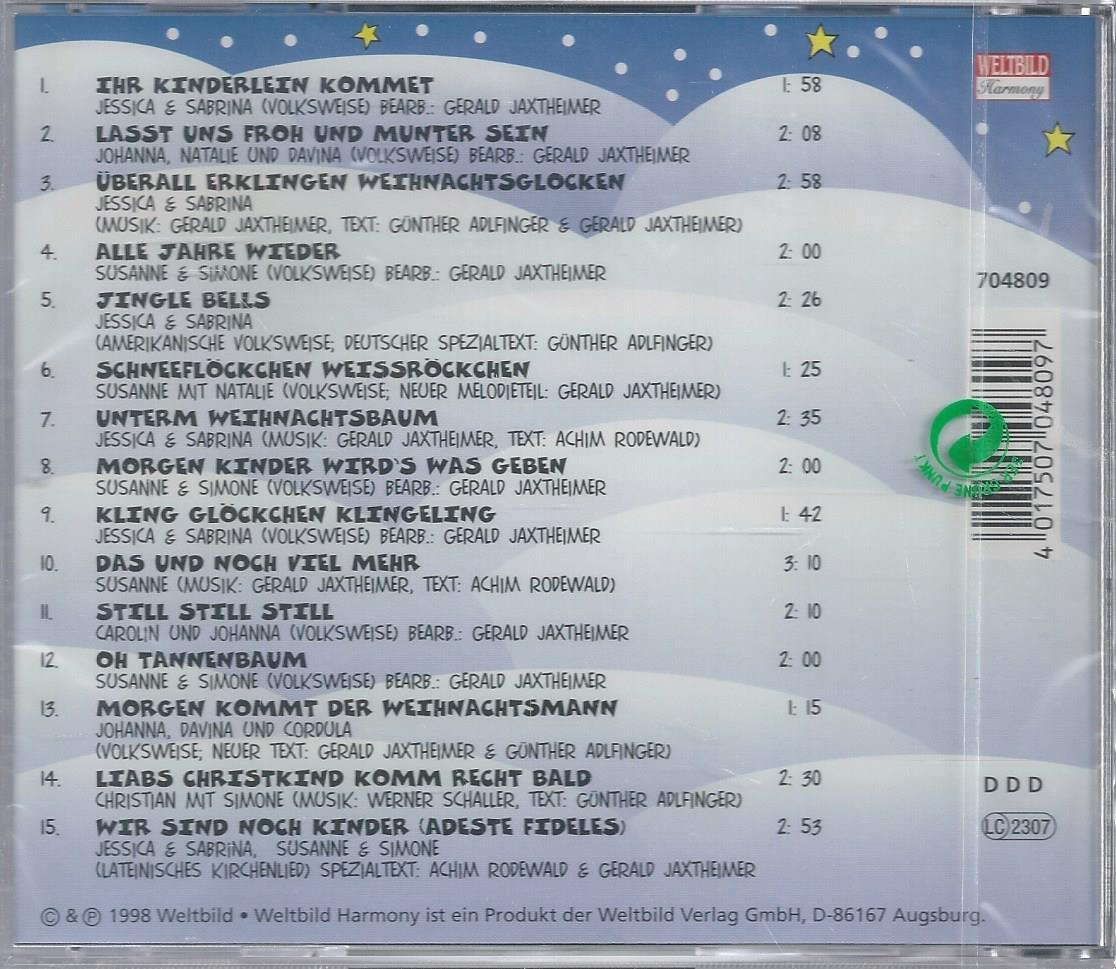 Kinder singen Weihnachtslieder - KINDER Compilation: Amazon.de: Musik