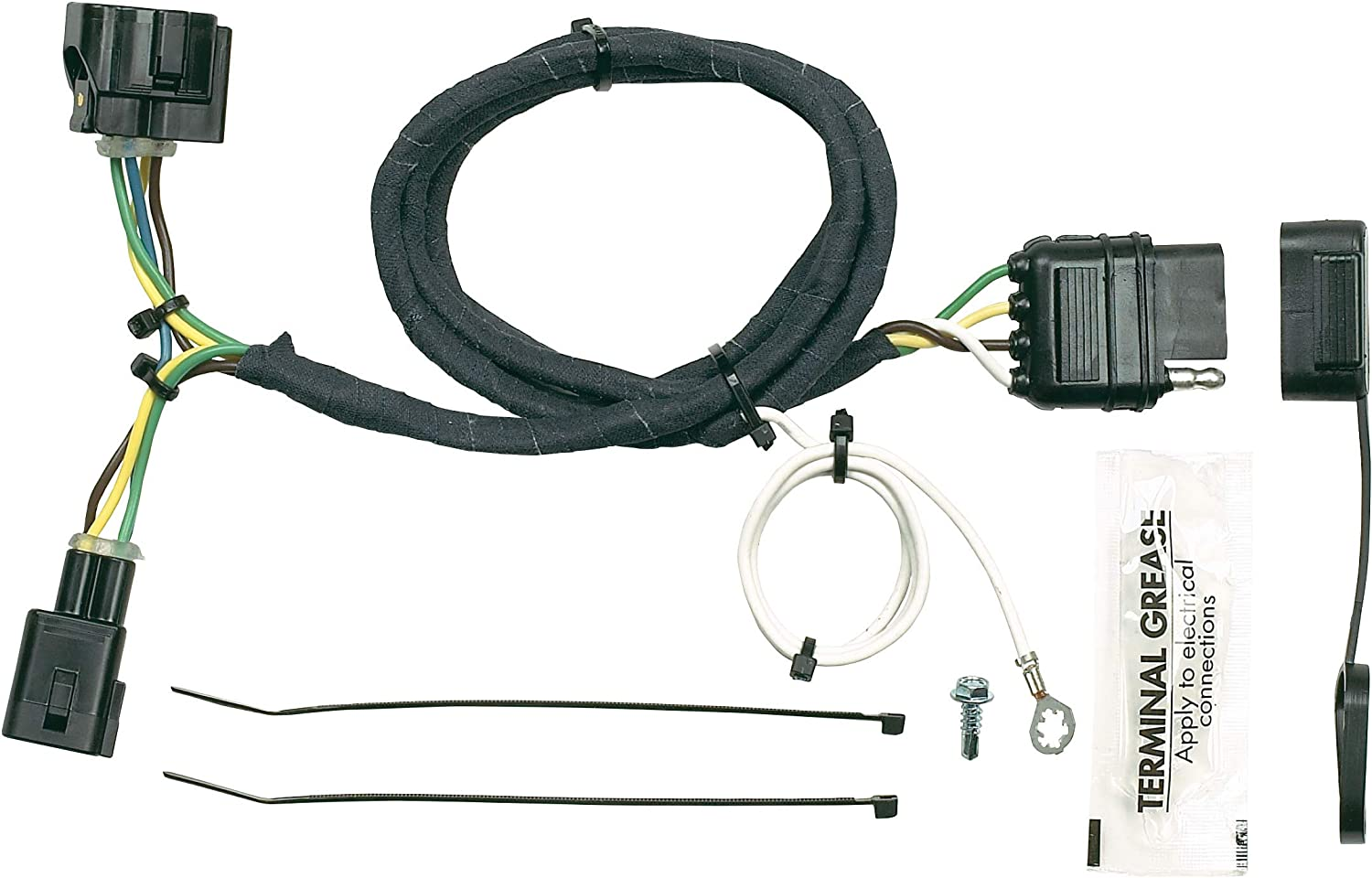 05 jeep wrangler lights wiring connector amazon com hopkins 42615 plug in simple vehicle wiring kit  hopkins 42615 plug in simple vehicle