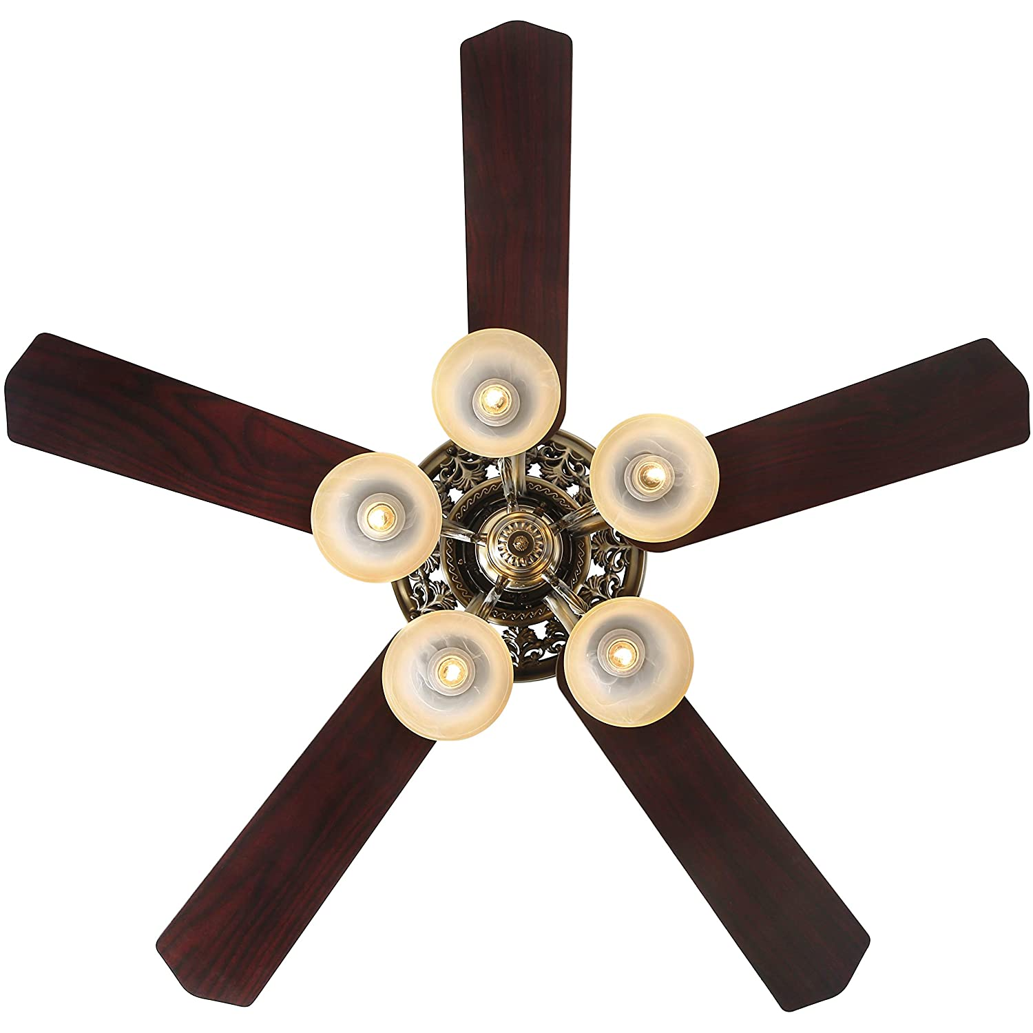Indoor Ceiling Fan Light Fixtures New Bronze Finxin New Bronze Remote Led 52 Ceiling Fans For