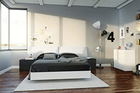 Amazon.com: Nexera Melrose 5 Piece Full Size Bedroom Set ...