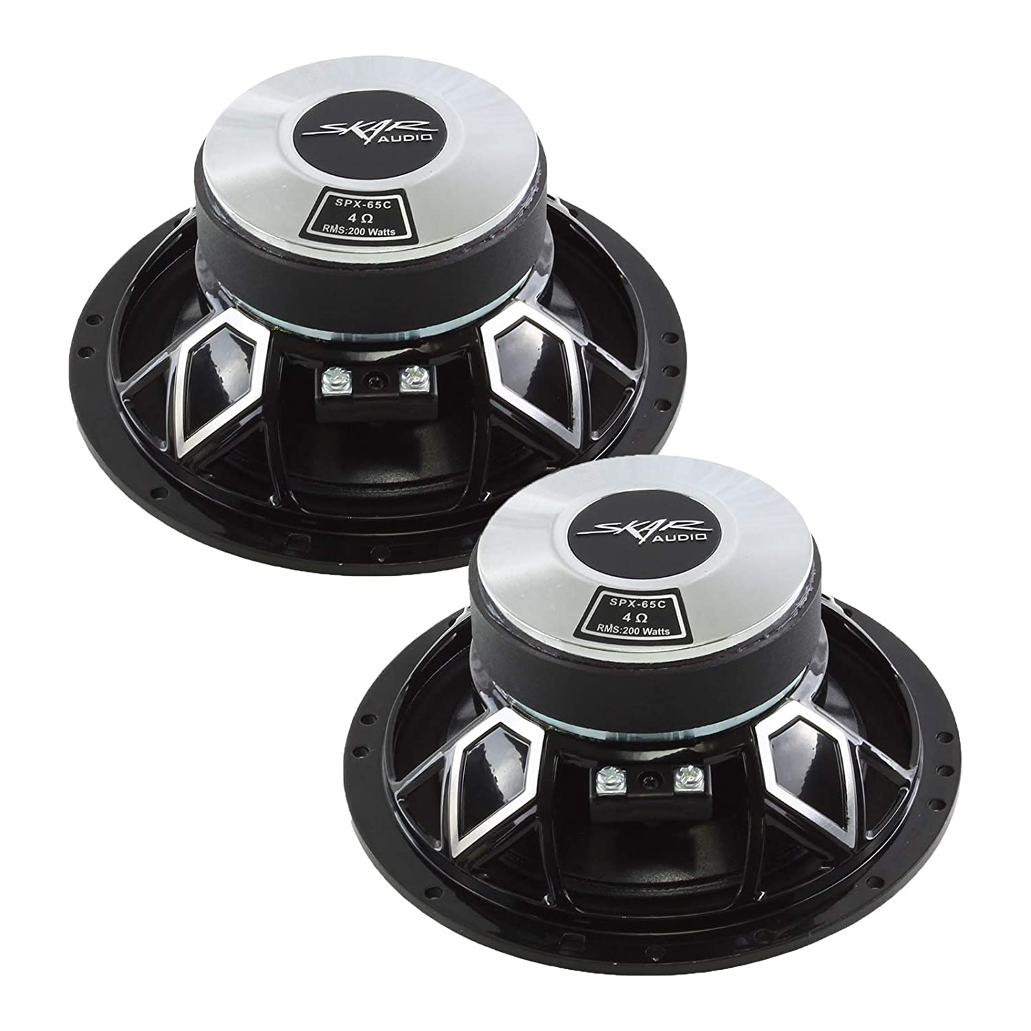 Skar Audio SPX-65C 6.5 2-Way High Performance Component Speaker System Set of 2