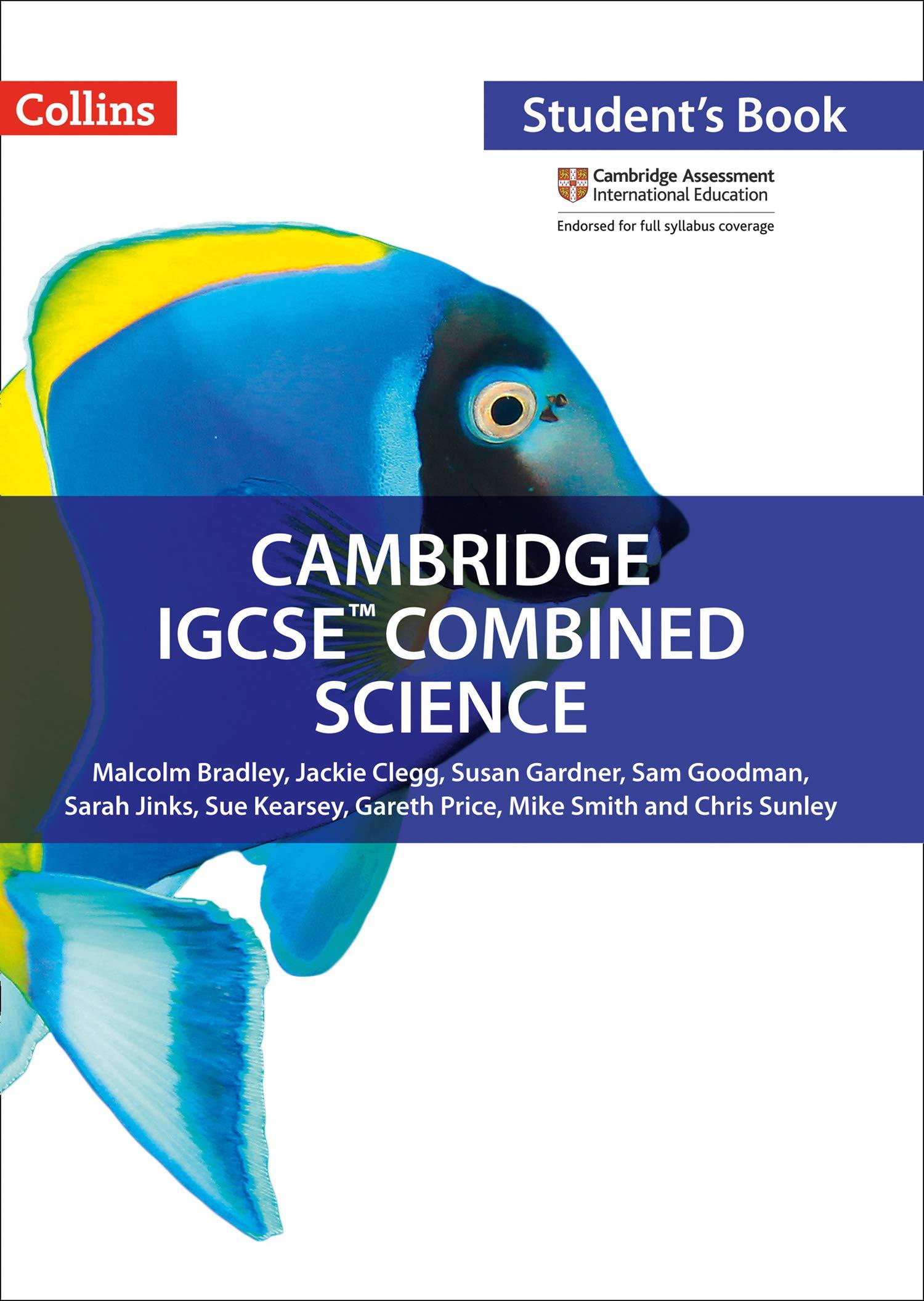Cambridge IGCSE  TM  Combined Science Student's Book  Collins Cambridge Igcse  174;