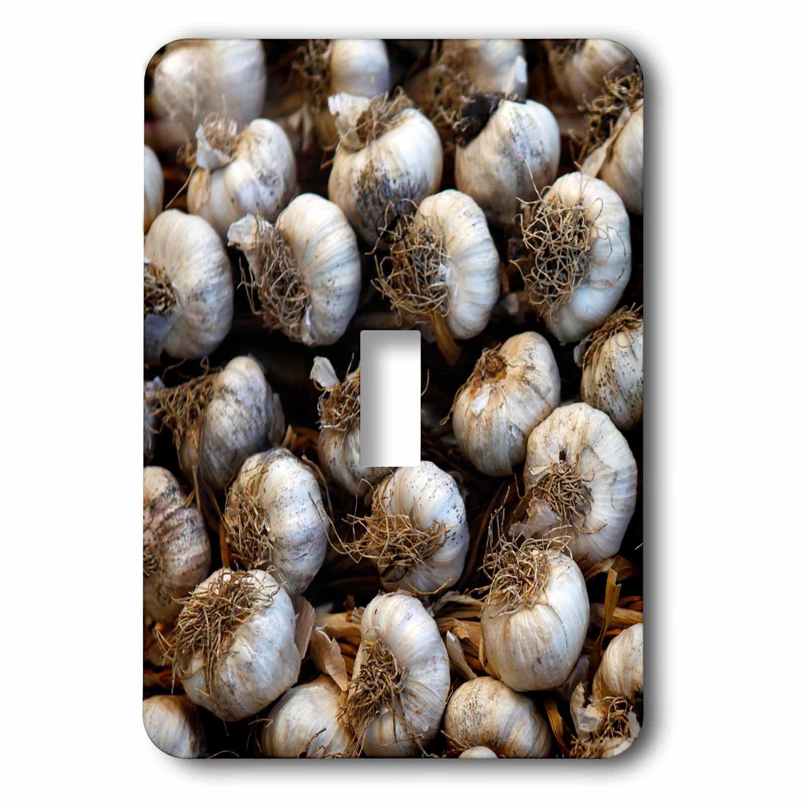 3dRose lsp_188723_1 Central America, Cuba, Santa Clara. Garlic Cloves for Sale. - Single Toggle Switch
