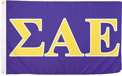 "Sigma Alpha Epsilon SAE Raised Wood Crest 3.5/"" Paddle Accessory SAE"