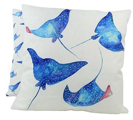 Amazon com: UniikStuff Stingray   Pillow Cover   18 x 18