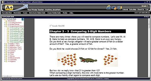 Amazon.com: 1st Grade Math Curriculum eBooks on CD (Lessons ...