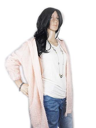 Cardigan Damen Long Sleeve Style Winter Coat Strickjacke