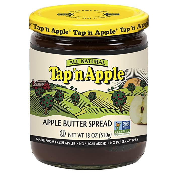 Tap'n Apple Apple Butter Spread, 18 Ounce Jar