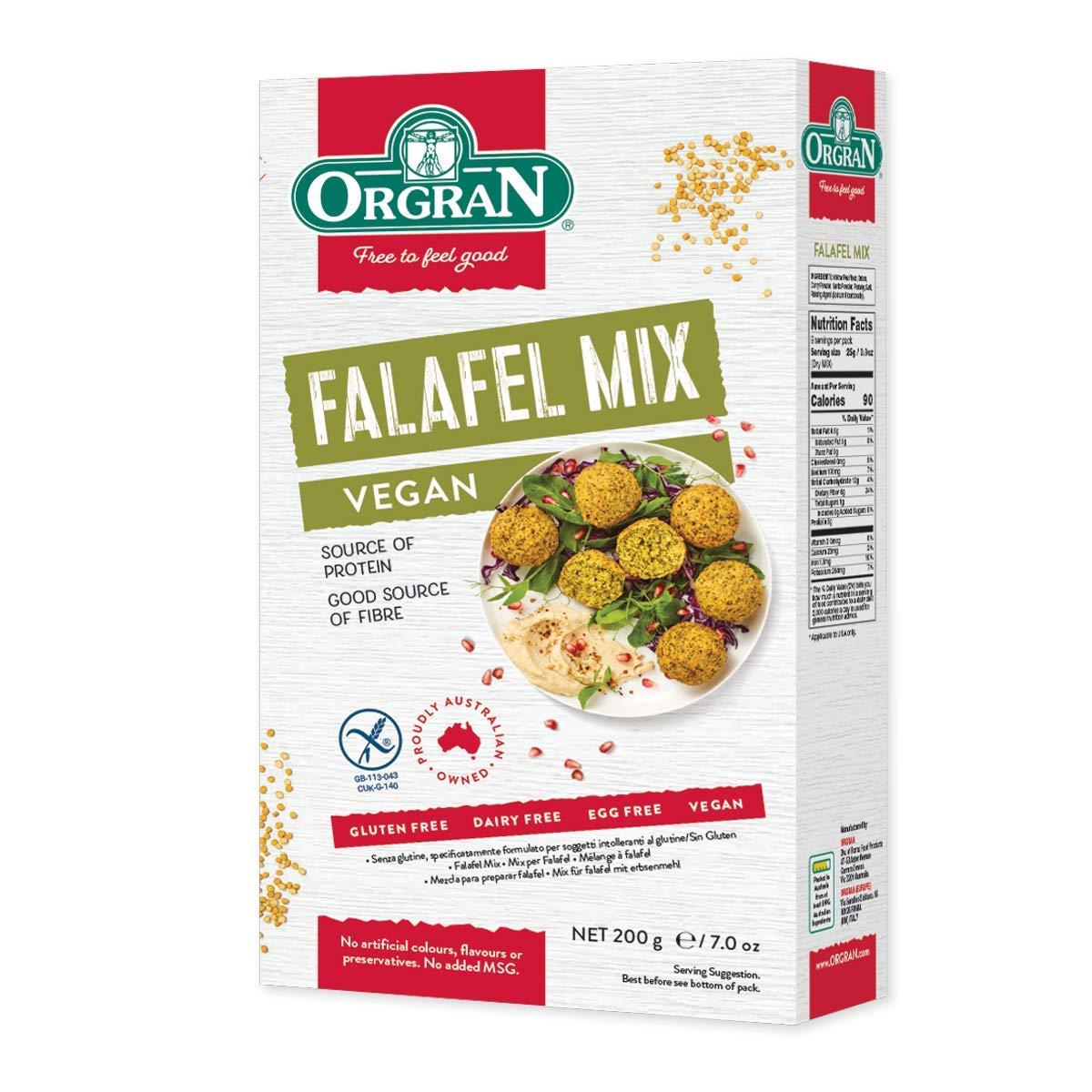 Orgran Falafel Mix, 7 Ounce