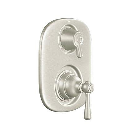 moen t4111bn kingsley moentrol tub shower transfer valve trim kit