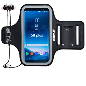 Estuche Deportivo con Brazalete para Samsung Galaxy S9 Plus / S8 Plus, Brazalete Resistente al Agua para Teléfono Celular, Hasta 6.2inch Estuche para ...