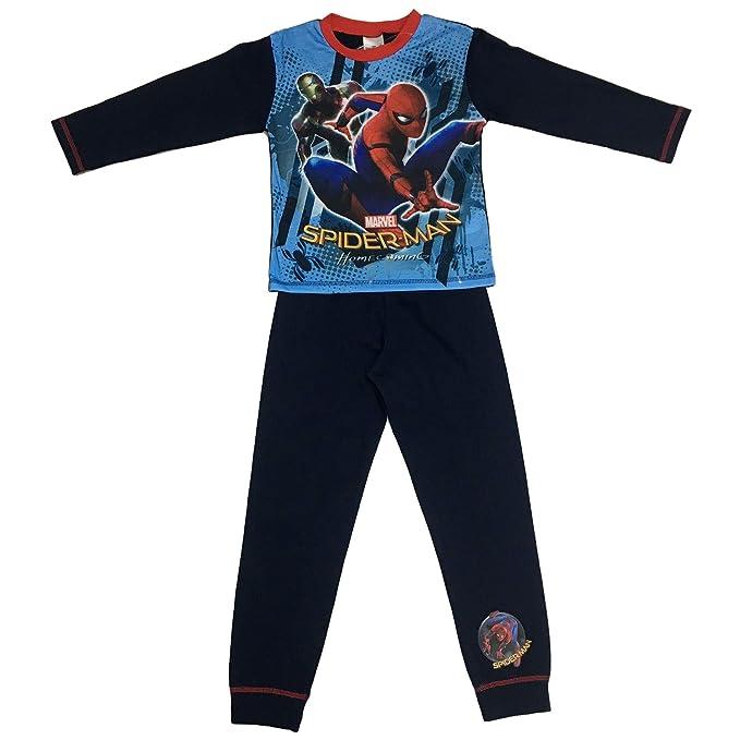 Cup of Tees Boys Spiderman Homecoming Pyjamas: Amazon.es: Ropa y accesorios