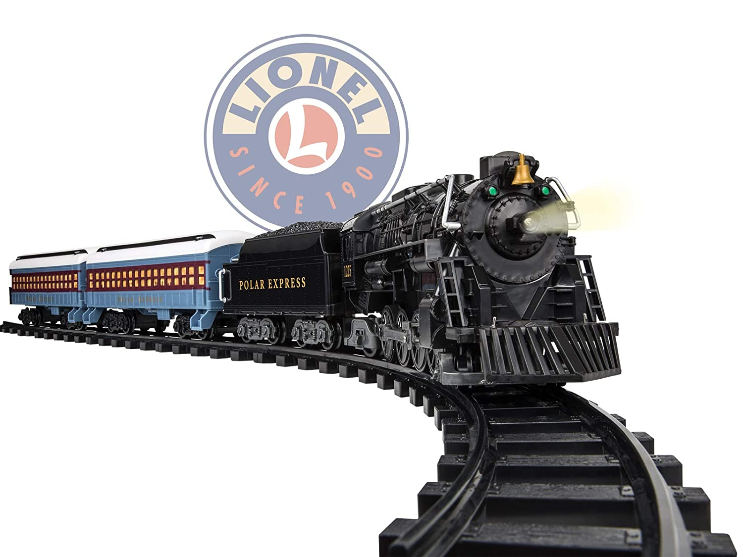 Polar Express Christmas Train Movie.Lionel The Polar Express Battery Powered Model Train Set Ready To Play W Remote
