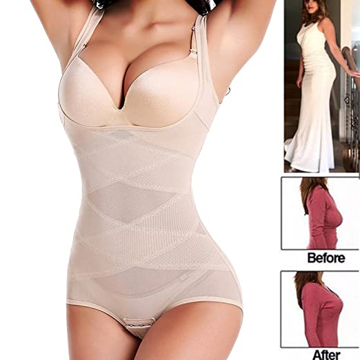 f85a6a8ab Image Unavailable. Image not available for. Color  FLORATA Body Shaper High  Waist Tummy Control Butt Lifter Panty Women Slimming Shapewear Slimmer Push  UP
