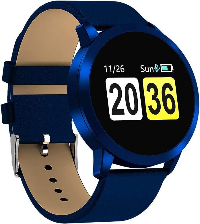 7e68ccd253 スマートウォッチ スマート腕時計 活動量計 メンズ 心拍計血圧計 血中 ...