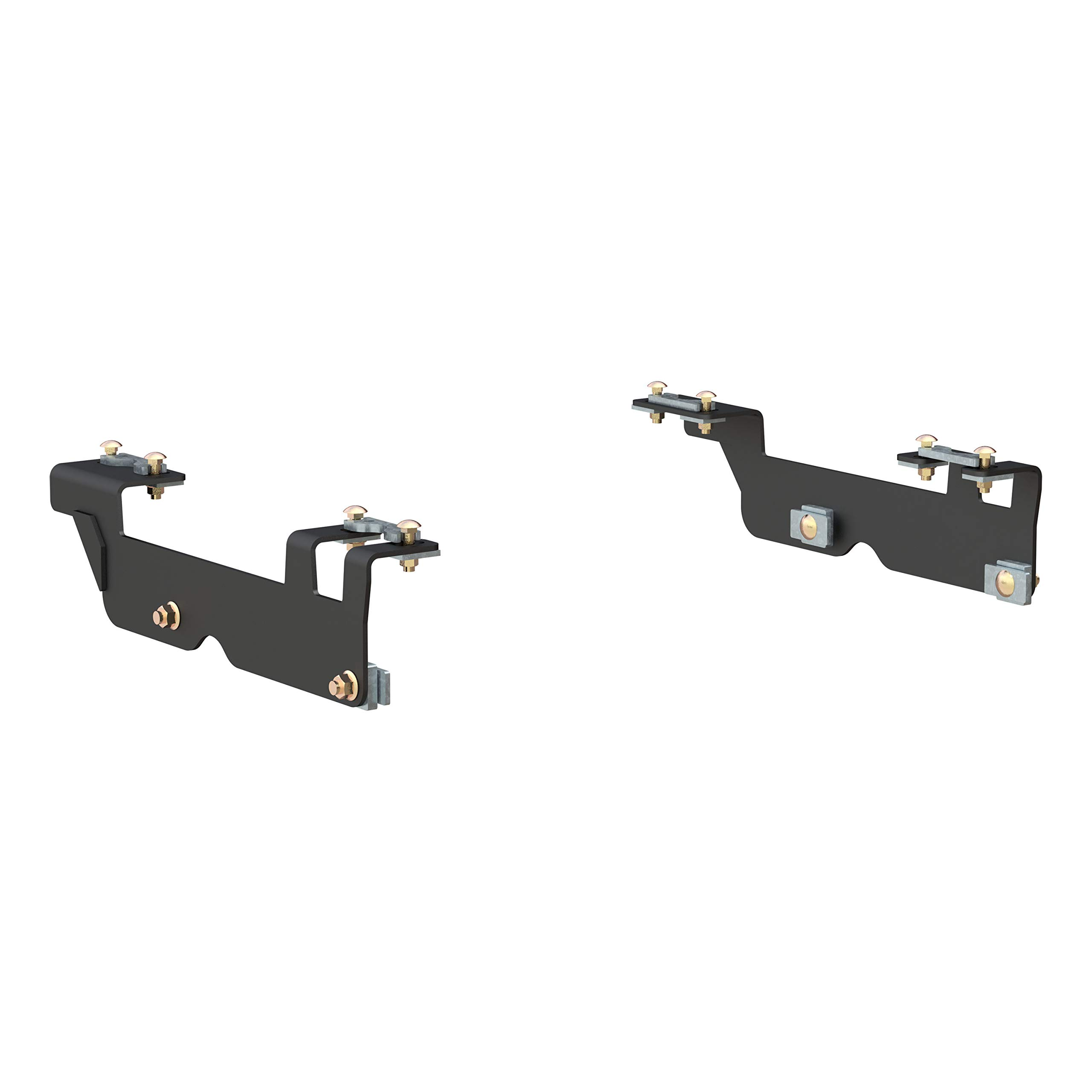 CURT 16442 Black 5th Wheel Hitch Installation Brackets for Select Ford F-150