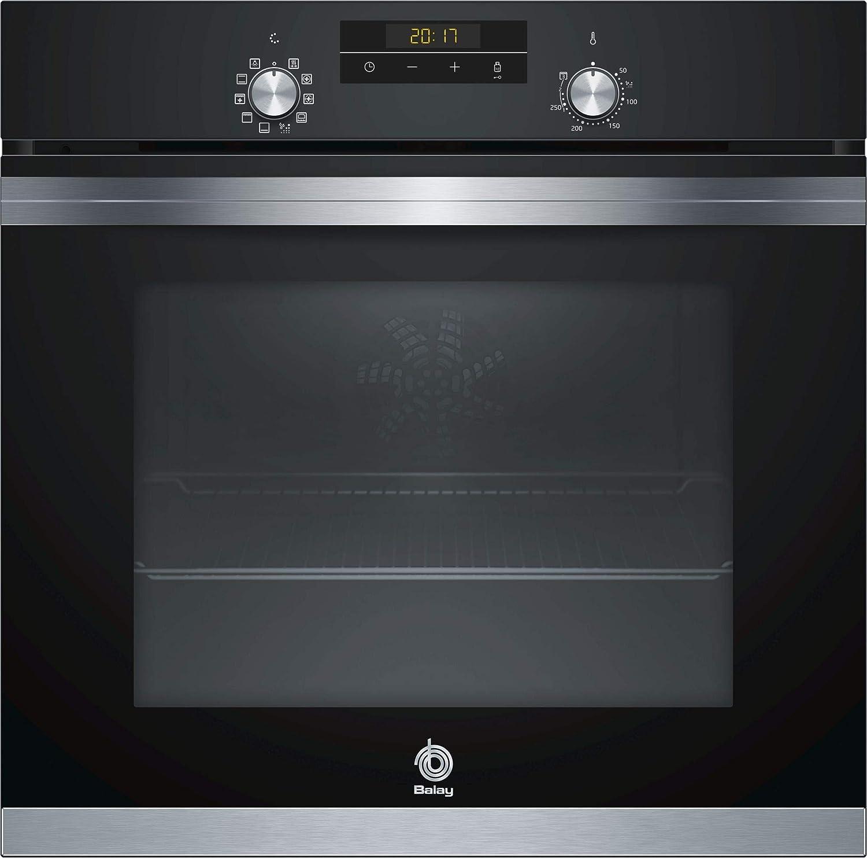 Balay 3HB4331N0 - Horno Medio eléctrico (71 L, 3400 W, 71 L, 3400 W), Negro