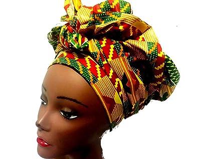 Amazon.com: Rosa africano Ankara Imprimir Cojín ambos lados ...