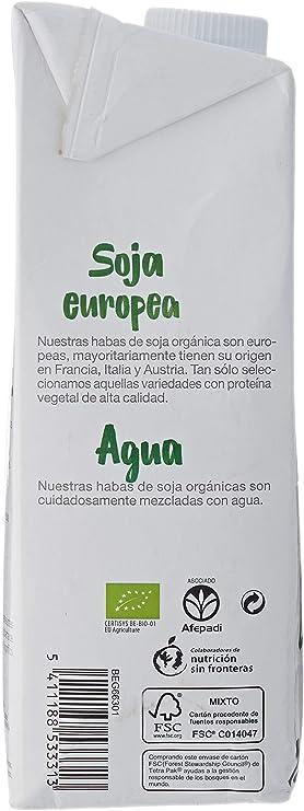 SANTIVERI Bebida Soja Sin Azucar 1 Litro
