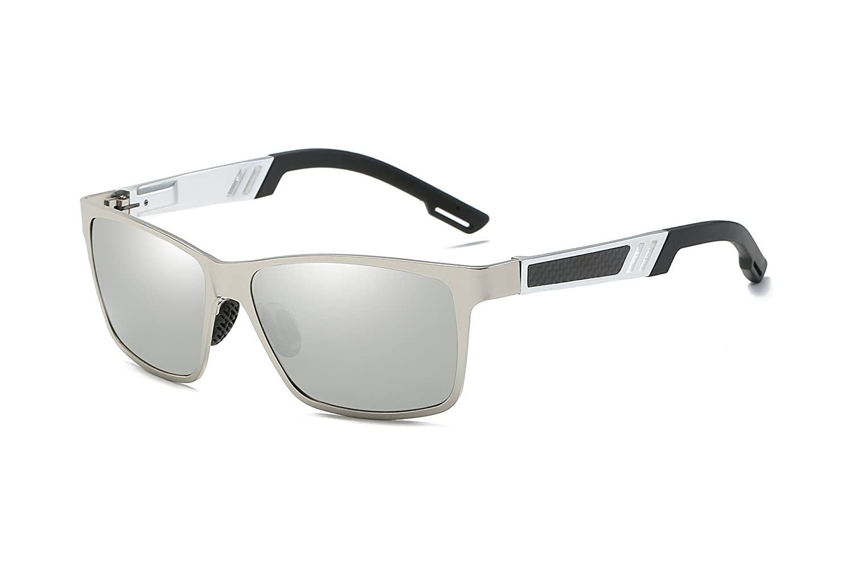 Bevi ユニセックスアダルト 0711C B079J3ZWBK Silver Frame/Silver Lenses Silver Frame/Silver Lenses