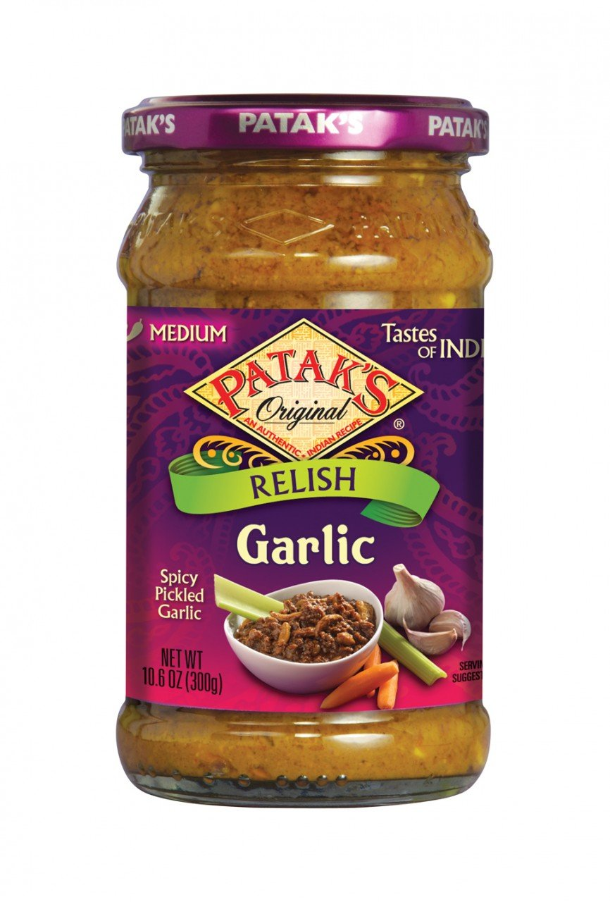 Pataks Garlic Relish (6x10.6Oz)