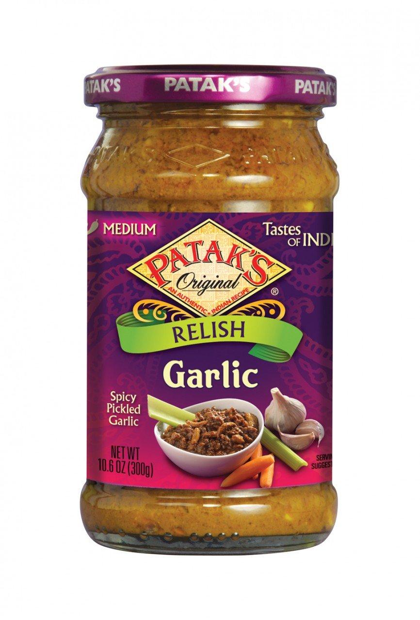 Pataks Garlic Relish (6x10.6Oz) by Patak's