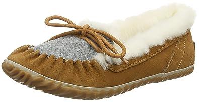 Sorel OUT N About Slipper Braun, Damen EU 42 - Farbe Elk-Fawn %SALE 40% Damen Elk - Fawn, Größe 42 - Braun