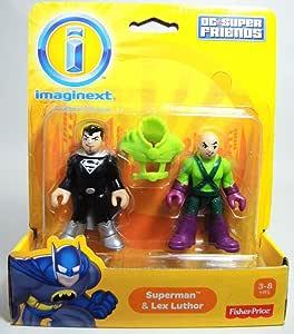 Imaginext DC Super Friends Mini Figure 2-Pack Superman & Lex ...