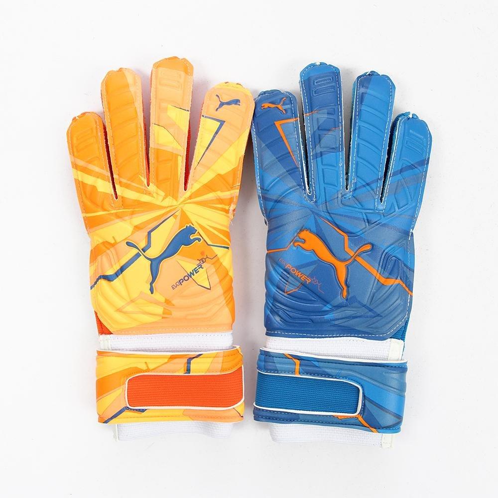 Puma Goalkeeper Glove evoPOWER Grip 2 RC lava blast-total eclipse-Weiß 15 16