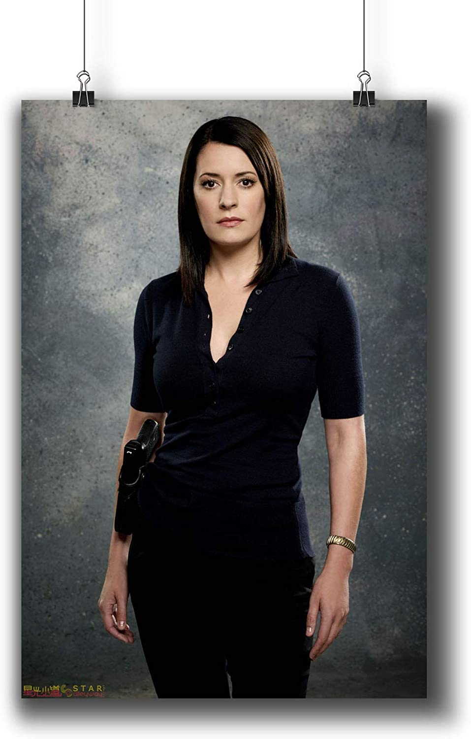 Criminal Minds TV Series Poster Small Prints 271-011 Emily Prentiss,Wall Art Decor for Dorm Bedroom Living Room (A4|8x12inch|21x29cm)