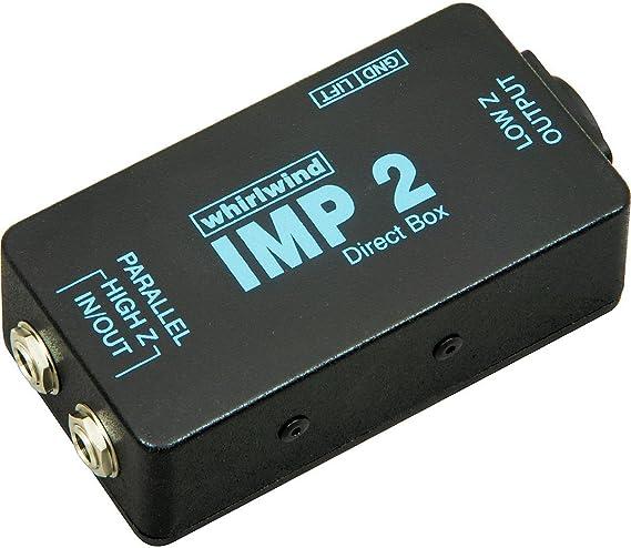Whirlwind IMP 2 Passive Direct Box: Amazon.es: Instrumentos musicales