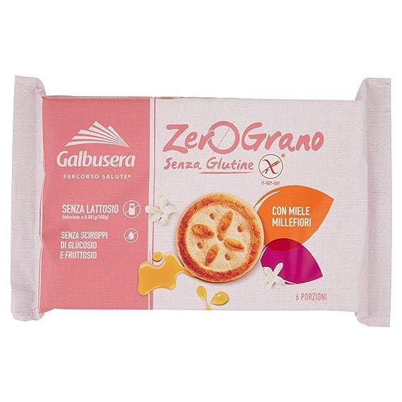Galbusera , ZeroGrano Frollini con Miele Millefiori, senza Glutine , 260 g