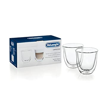 De'Longhi 5513214601 Double Walled Cappuccino Cups