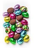 Premium Solid Milk Chocolate Easter Eggs (1 Lb - 63 Pcs)