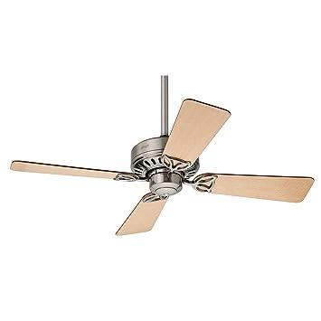 Hunter Fan Bayport Ventilador de techo 58 W, Acero Inoxidable, 3 Velocidades, Níquel Cepillado