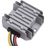 24v to 12v DC Converter, DROK DC-DC Waterproof Golf Cart Voltage Reducer Regulator 15-35V 24V to 12V Buck Volt Converter Module5A 60W Step-down Power Supply Transformer