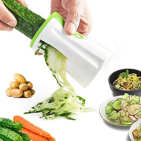 Vegetable Spiralizer Spiral Slicer Vegetable Slicer Affettatrice Vegetable Cutter Slicer For Carrots Cucumbers Potatoes Pumpkin Zucchini