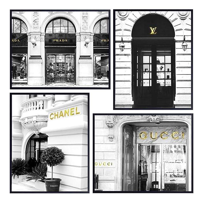 Top 5 Fashion Couture Wall Art Decor