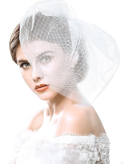 fbdfb00d57 handcess boda bridcage velo con peine