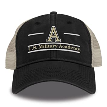 b076d750761 Amazon.com   The Game NCAA Army Knights Split Bar Design Trucker ...