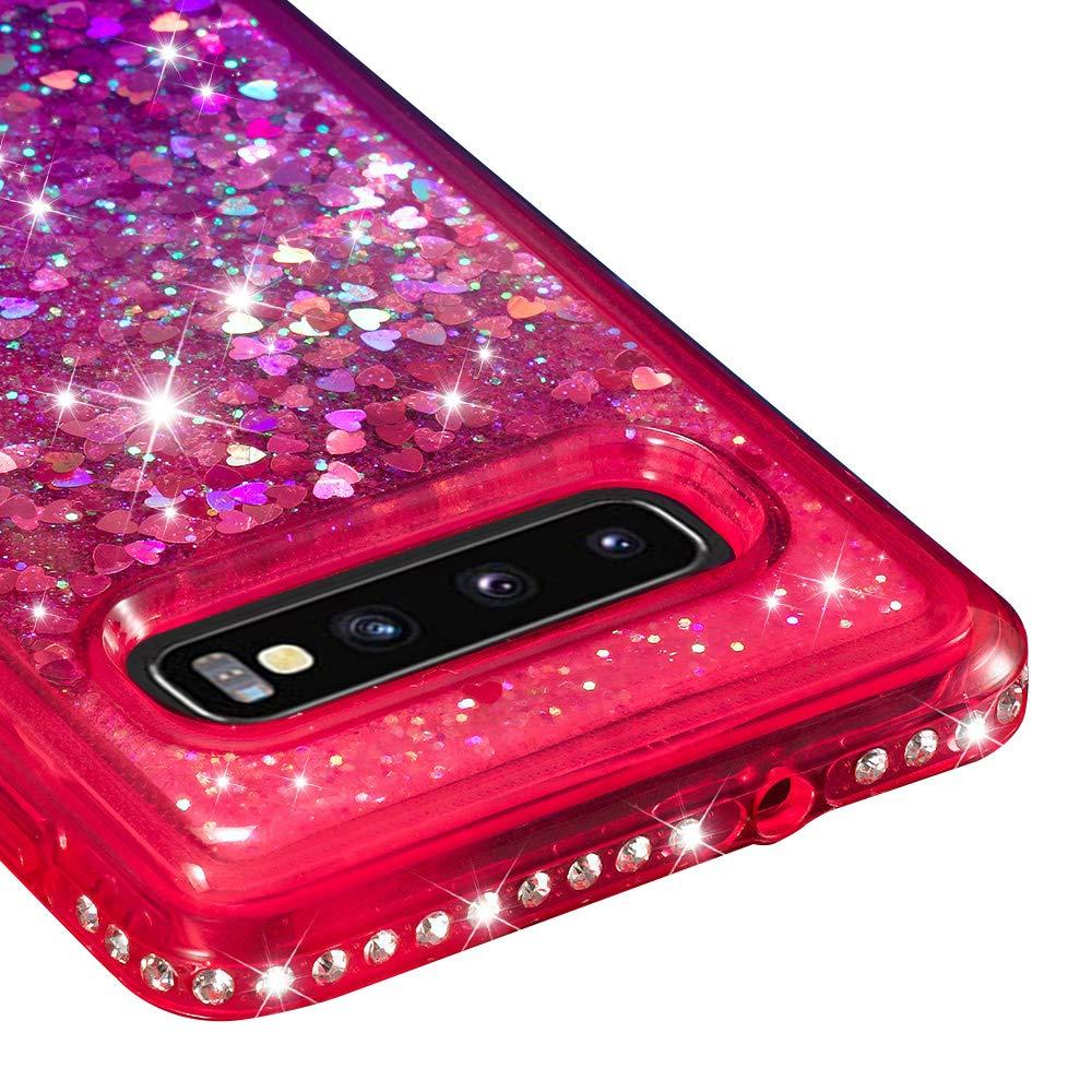 Vistore Glitter Liquid Case for Samsung Galaxy S10 Plus,Diamond