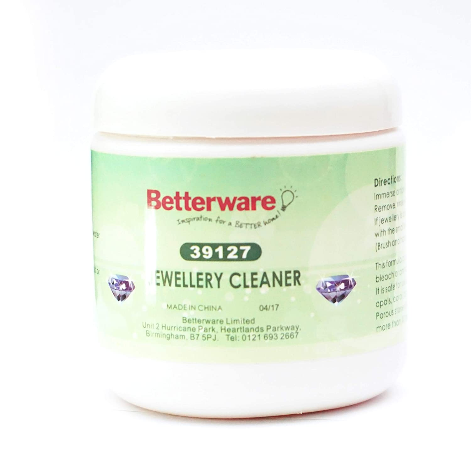 Gold, Silver And Platinum Jewellery Cleaner Betterware